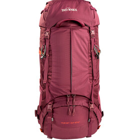 Tatonka Yukon 50+10 Backpack Women bordeaux red
